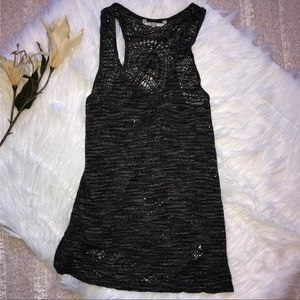 BKE Crocheted Tank Top S